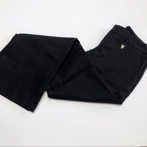 Gucci Made in Italy black flare pants measures 31